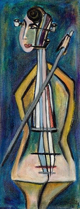 Femme et Cello